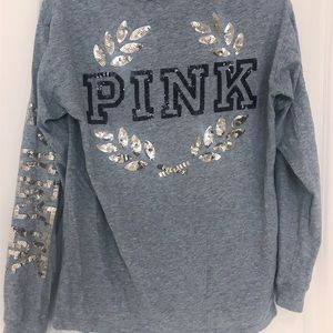 Victoria Secret Oversized Long Sleeved Tee